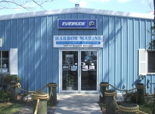Harbor Marine Store front