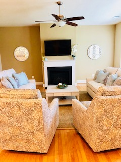 TV Time...we can make a living room as casual or formal as your lifestyle!