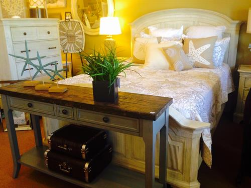 Adrift on the Breeze...let us create the perfect coastal guest room!