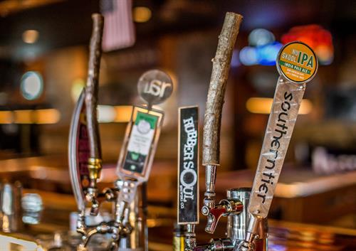 Craft beer always on tap