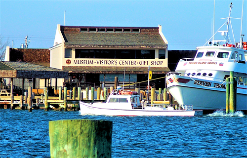 Jump aboard one of the daily cruises to Tangier and Smith Islands and visit the famous J.M. Tawes Museum.