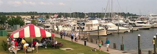 We can also host yacht and cruising club rendezvous and fishing tournaments.