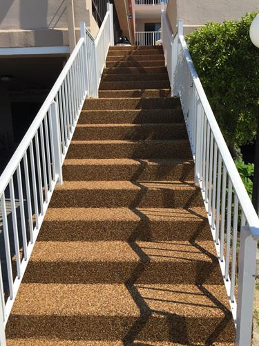 Epoxy Stone Stairs