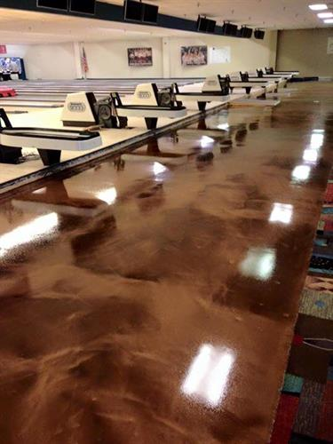 Bowling Alley ReFlexions Floor