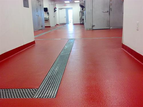 Cementicous Urethane Flooring System Commercial Kitchen