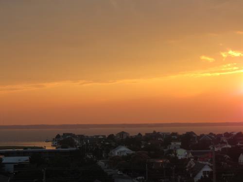 One of many amazing bayside sunsets