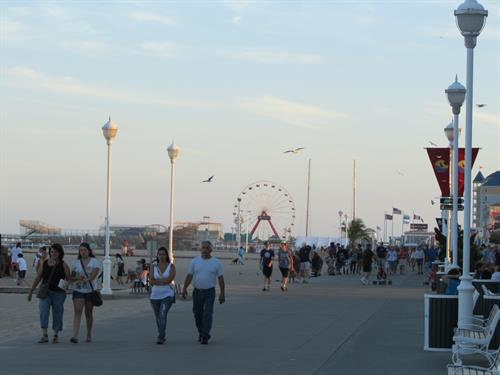 Or take a stroll on the boardwalk and enjoy some custard or the famous Thrasher's French Fries