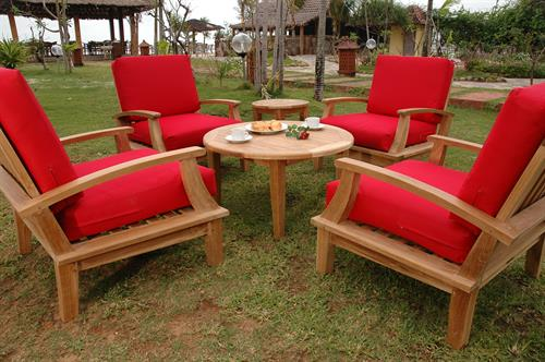 Portofino Deep Seating Chairs w Sunbrella Cushions