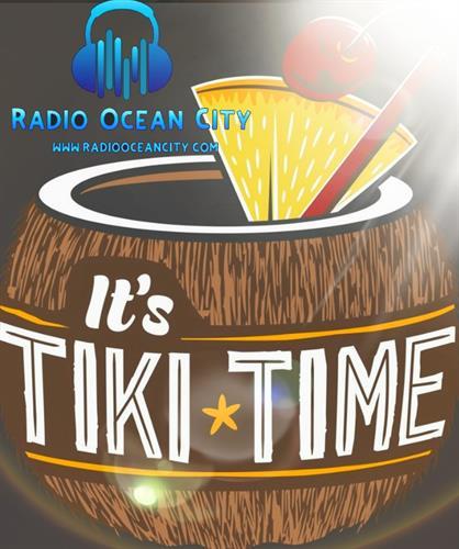 It's tiki time weekend afternoon 12-2!