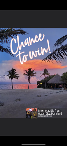 Radio Ocean City is giving away a trip for 2 to Islamorada this New Year's Eve??