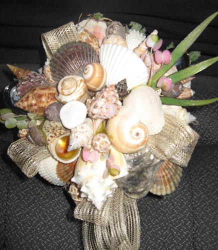 Sea shell Bouquets to save and cherrish