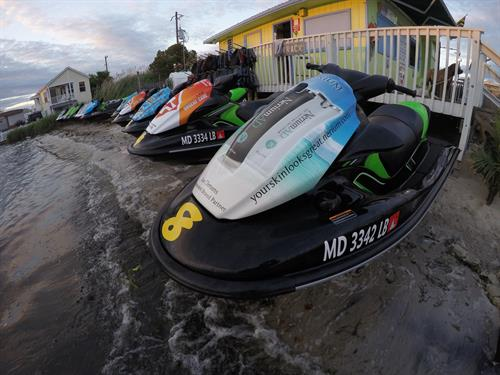 Plenty of Jetskis for your Family and Friends