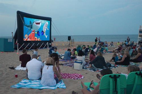 Movies On The Beach Ocean City Nj