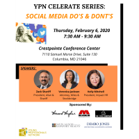 """YPN Celerate Series - ''Social Media Do's and Don'ts"""" - SOLD OUT"""