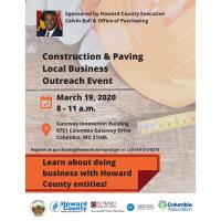 Construction & Paving Local Business Outreach Event