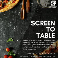Screen to Table with Hudson Coastal