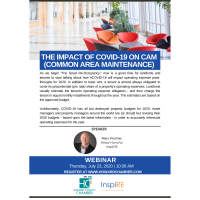 Ask the Experts: The Impact of COVID-19 on CAM (Common Area Maintenance)