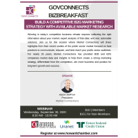 GovConnects BizBreakfast: Build a Competitive B2G Marketing Strategy with Available Market Research