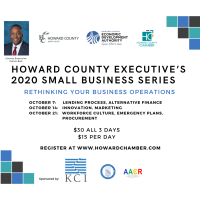 Howard County Executive's  2020 Small Business Series
