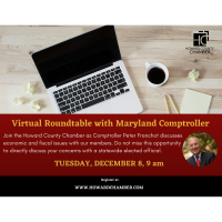 Virtual Discussion with Comptroller Franchot