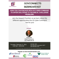 GovConnects BizBreakfast: Business Opportunities with US Cyber Command [2.11.21]