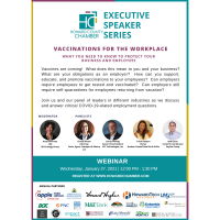 Executive Speaker Series: Vaccinations for the Workplace