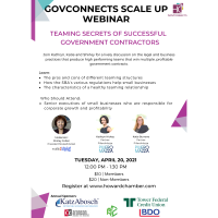 GovConnects Scale Up [4.20.21]
