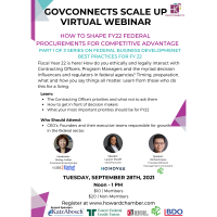 GovConnects Scale Up [9.28.21]