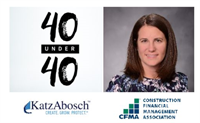 KatzAbosch Principal Recognized in CFMA's First-Ever 40 Under 40 Class