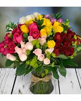 Beautiful anniversary roses