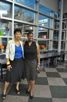 "Multimedia Producer Denée Barr and Rosemary Reed Mill Author ""The Threads of Time"" at Howard County Library"