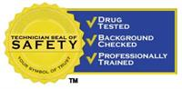 All of our employees are Safety Seal Certified!
