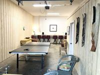 Main House game room/ping pong, open May - Nov