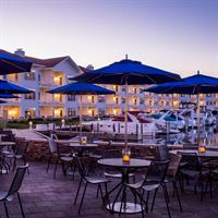 Waterfront Patio at Bentwood Tavern in Marina Grand Resort