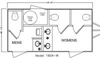 Cellar Luxury Restroom Trailer Floor Plan