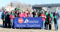 It's better when TCU and New Buffalo Savings Bank are together! The merged financial institutions enjoyed the festivities in 2020 at New Buffalo's first annual St. Patrick's Day parade along Whittaker Street.