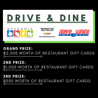 Drive & Dine Gift Card Extravaganza