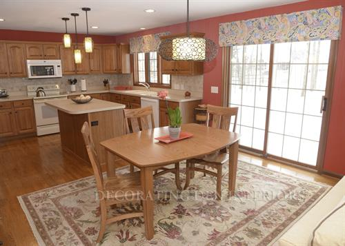 Kitchen - Decorative Valances and Lighting