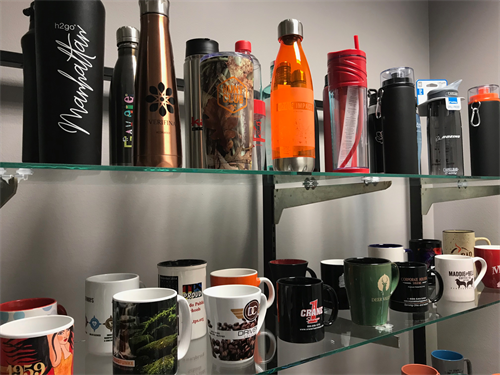 Unlimited options of branded drinkware