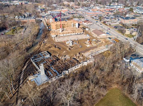 SOMO Flats construction site - Feb 2020