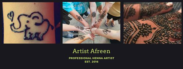 Artist Afreen