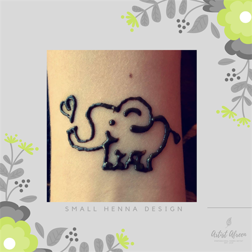 Small Henna Design