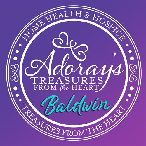 Adoray's Treasures from the Heart Logo