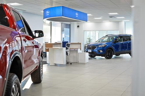 Brand new State of the Art showroom at Flagship Ford