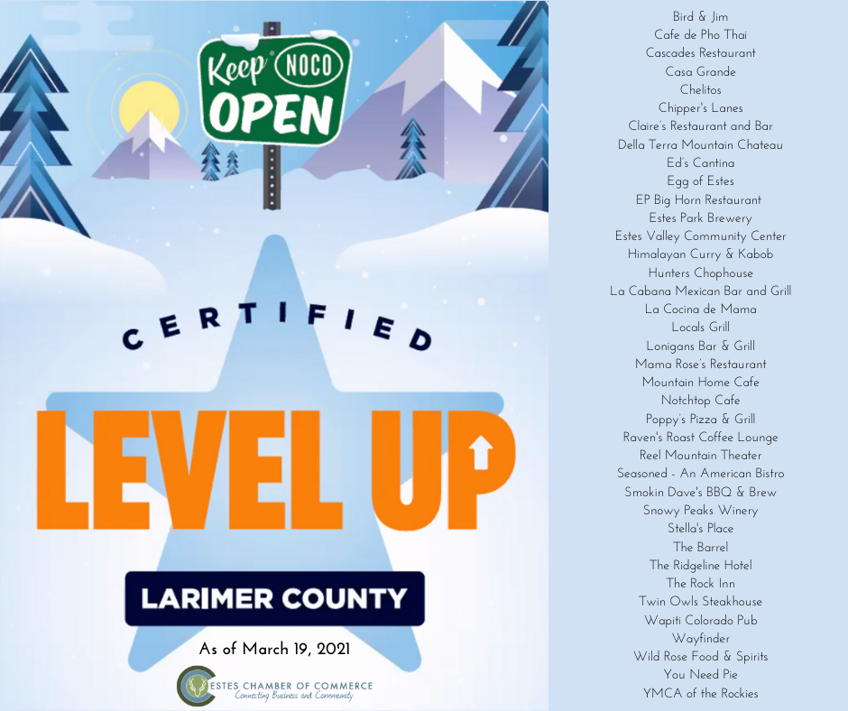 Image for COVID and Level Up news