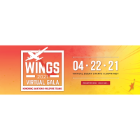 Wings Virtual Gala Honoring Aviation & Wildfire Teams
