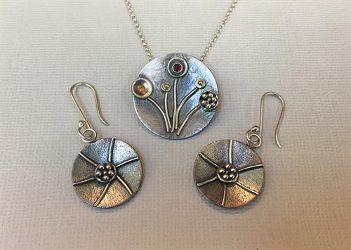 Unique silversmithing by Linda Toukan