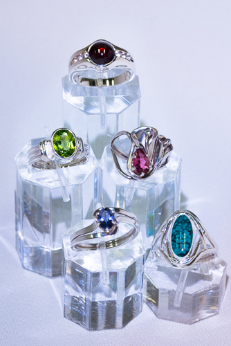 Fine jewelry from Colorado artists like The Harrington Collection