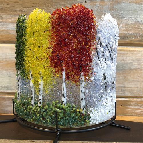 Fused Glass by award winning Arlyss Grosz