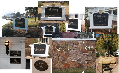 custom directional sign package